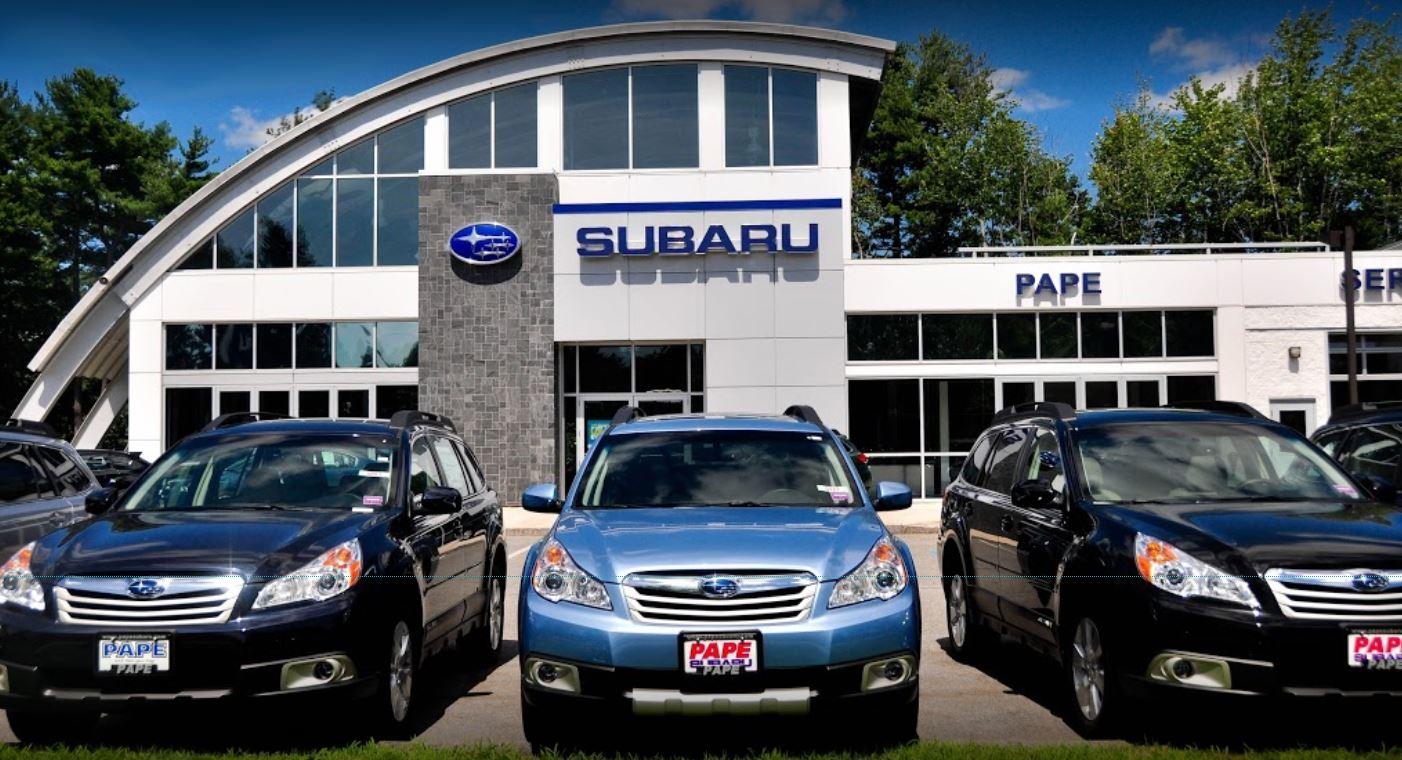 Subaru Dealers In Maine >> Pape Subaru New Used Subaru Dealership In South Portland