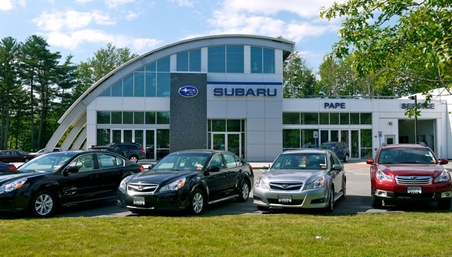 About pape subaru new and used car dealer serving for Southern maine motors service