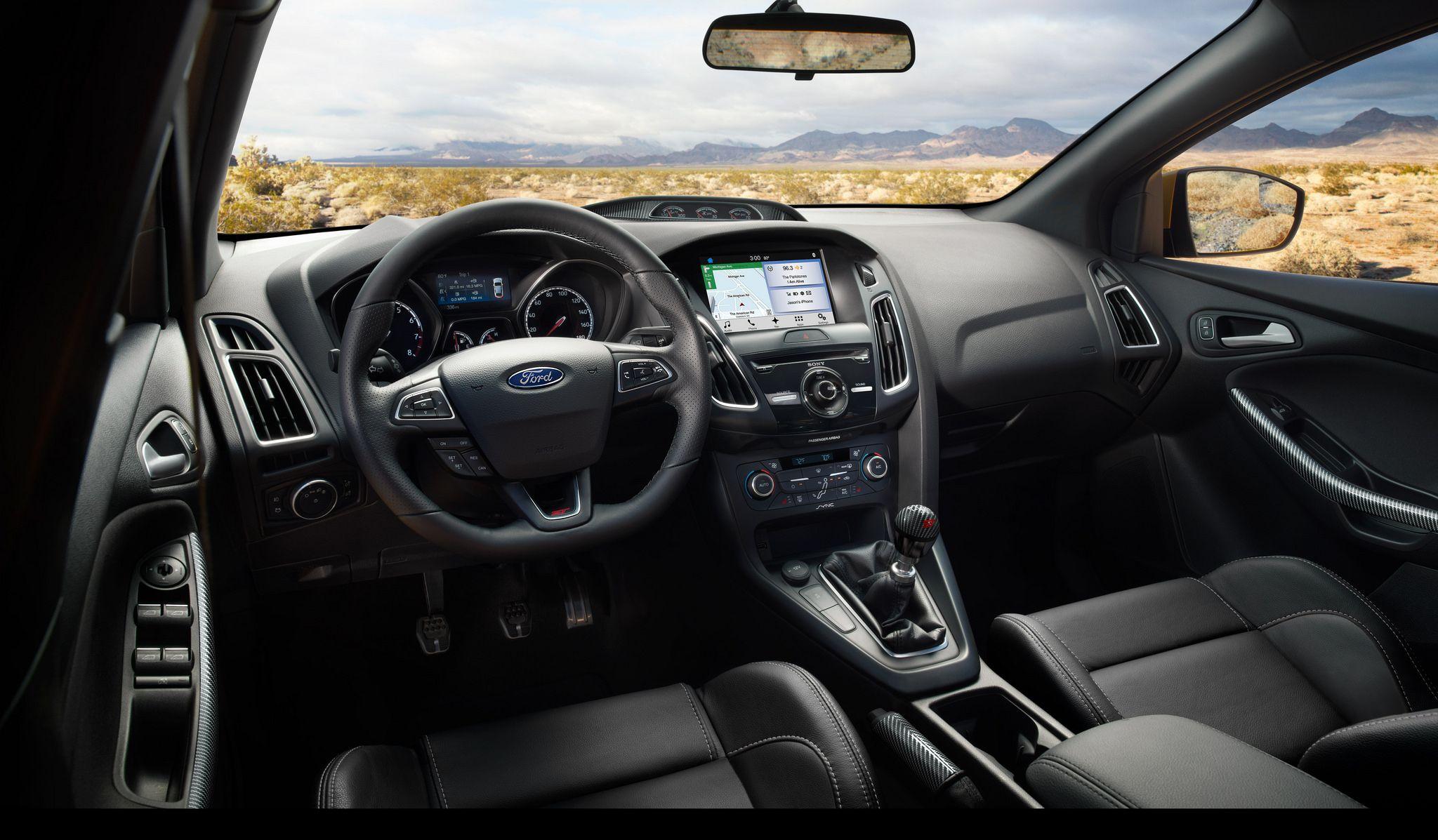 2018 Ford Focus Interior Spotlight Paradise Ford