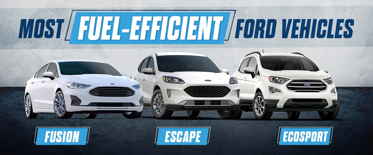 Fuel Efficient Ford Vehicles, Cocoa, FL