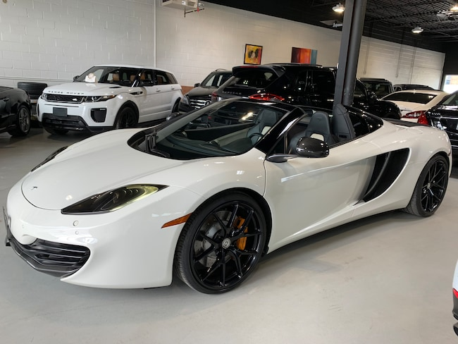 2013 McLaren MP4-12C MP4-12C !!!SPYDER!!!CARBON FIBER!!!NO ACCIEDENT!!! Convertible