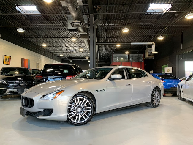 2015 Maserati Quattroporte AWD/Q4/NAV/REAR WINDOW SHADES Sedan