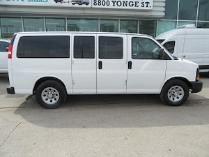 2014 Chevrolet Express 1500 8 passenger all wheel drive van Van Regular