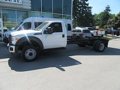 2014 FORD F-550 2WD GAS CAB & CHASSIS 189 INCH WHEEL BASE