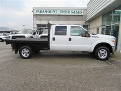 2014 FORD F-350 4X4 crewcab with 9ft flatdeck