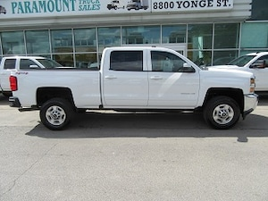 2017 Chevrolet Silverado 2500HD CrewCab 4x4 gas short box loa ded Crew Cab
