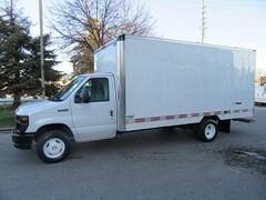 2016 FORD E-450 Custom 16 1/2 ft aluminum box gas cube van