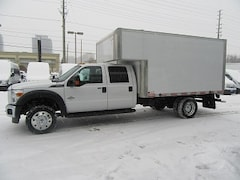 2016 FORD F-550 Crew Cab 2wd diesel with 12 ft alum box