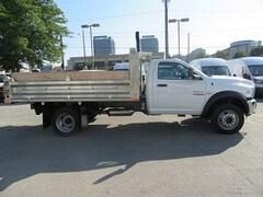 2018 DODGE Ram 5500  4x4 diesel with aluminum dump box