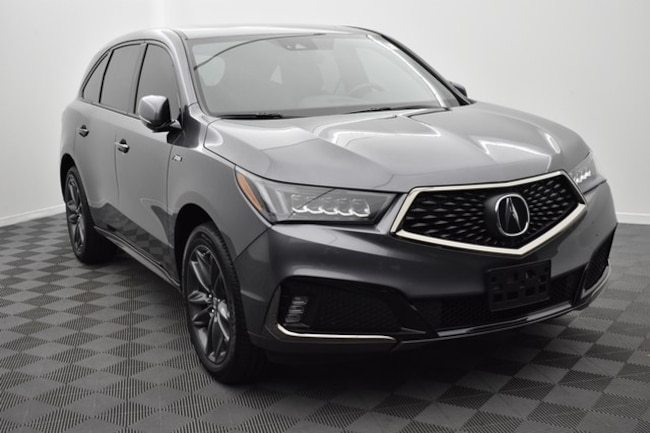 used 2019 Acura MDX 3.5L Tech & A-Spec Pkgs SUV 5J8YD4H00KL011702 in Hickory NC