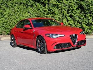 Used Vehicles for sale 2017 Alfa Romeo Giulia Quadrifoglio Sedan ZARFAEAV4H7548364 in Hickory, NC