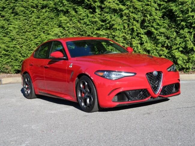 used 2017 Alfa Romeo Giulia Quadrifoglio Sedan in Hickory NC