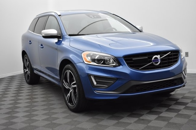 used 2017 Volvo XC60 T6 AWD R-Design SUV YV449MRS5H2145342 in Hickory NC