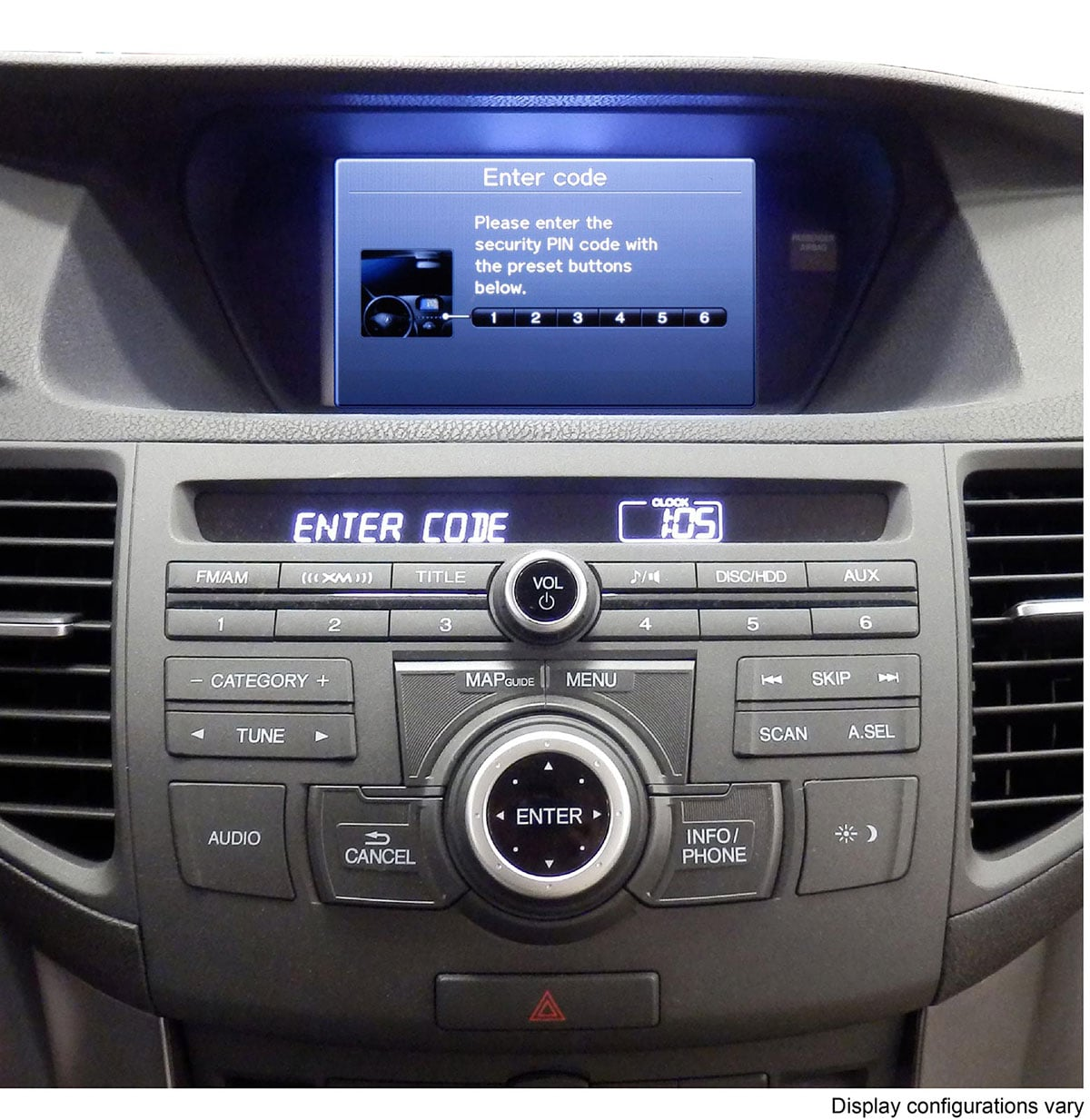 Acura Radio/Navi Code Service Technical Resources