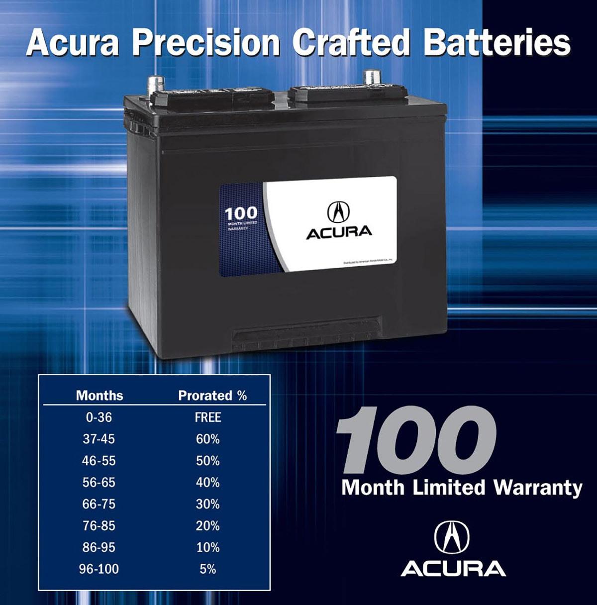 Acura Brand Battery