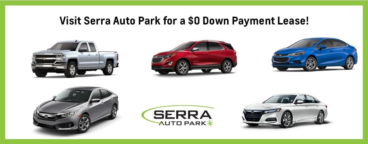 0 down payment lease options serra auto park. Black Bedroom Furniture Sets. Home Design Ideas