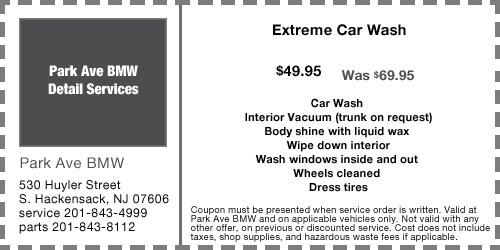 Bmw Car Wash Nj Interior Exterior Detailing In Rochelle