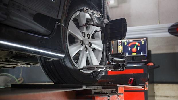 BMW tire alignment