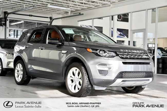 2016 Land Rover Discovery Sport * HSE LUXURY * NAV * TOIT PANO * VUS