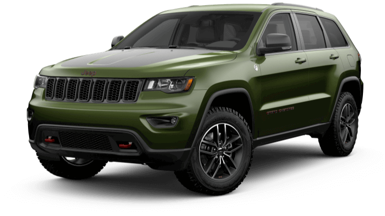 2019 Jeep Grand Cherokee Trailhawk in Green
