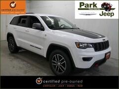 2018 Jeep Grand Cherokee Trailhawk 4x4 Chrysler Certified SUV For sale near Saint Paul MN