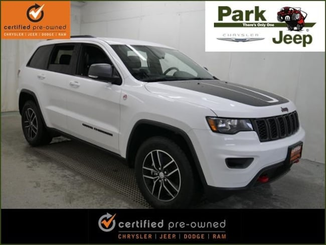 DYNAMIC_PREF_LABEL_AUTO_USED_DETAILS_INVENTORY_DETAIL1_ALTATTRIBUTEBEFORE 2018 Jeep Grand Cherokee Trailhawk 4x4 Chrysler Certified SUV For sale near Saint Paul MN