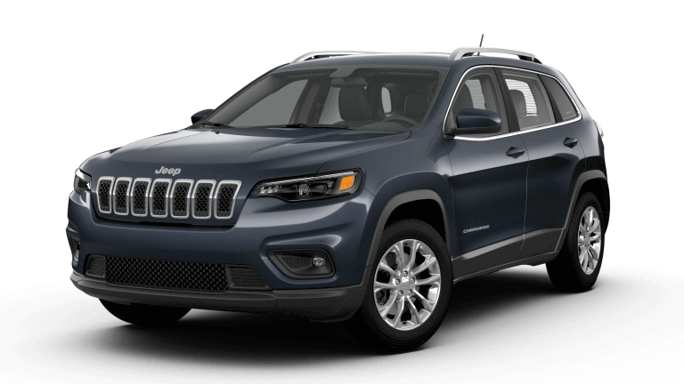 Grey 2019 Jeep Cherokee