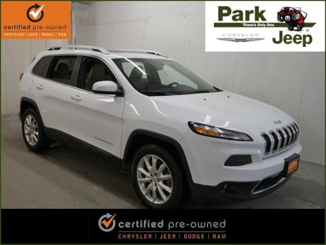 DYNAMIC_PREF_LABEL_AUTO_USED_DETAILS_INVENTORY_DETAIL1_ALTATTRIBUTEBEFORE 2016 Jeep Cherokee Limited 4X4 Chrysler Certified SUV For sale near Saint Paul MN