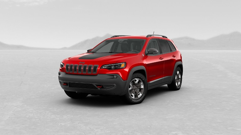 2019 Jeep Cherokee Trailhawk red