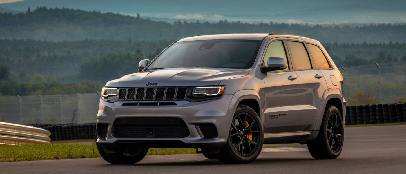 2019 Jeep Grand Cherokee Exterior parked on a Test Track