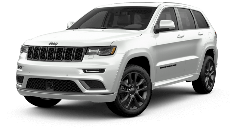 2019 Jeep Grand Cherokee High Altitude in White