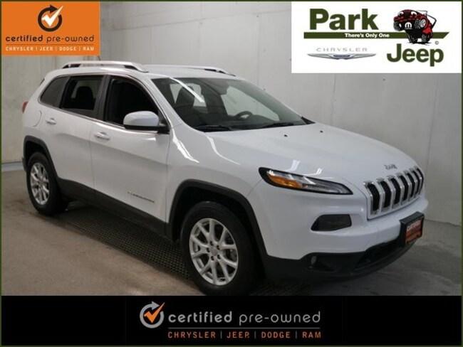 2015 Jeep Cherokee Latitude V6 4x4 Chrysler Certified SUV