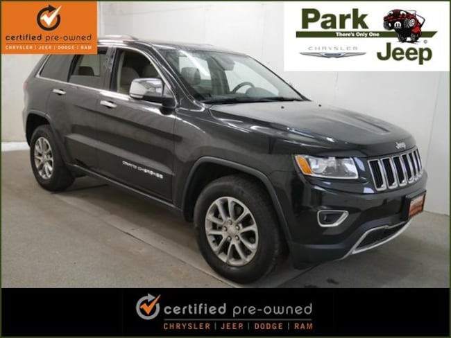 DYNAMIC_PREF_LABEL_AUTO_USED_DETAILS_INVENTORY_DETAIL1_ALTATTRIBUTEBEFORE 2015 Jeep Grand Cherokee Limited Chrysler Certified SUV For sale near Saint Paul MN