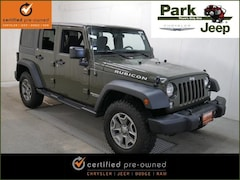 2015 Jeep Wrangler Unlimited Unlimited Rubicon 4x4 Chrysler Certified SUV For sale near Saint Paul MN