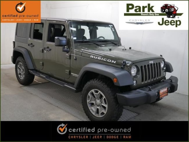 DYNAMIC_PREF_LABEL_AUTO_USED_DETAILS_INVENTORY_DETAIL1_ALTATTRIBUTEBEFORE 2015 Jeep Wrangler Unlimited Unlimited Rubicon 4x4 Chrysler Certified SUV For sale near Saint Paul MN