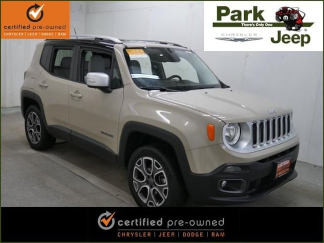 DYNAMIC_PREF_LABEL_AUTO_USED_DETAILS_INVENTORY_DETAIL1_ALTATTRIBUTEBEFORE 2015 Jeep Renegade Limited 4x4 Chrysler Certified SUV For sale near Saint Paul MN