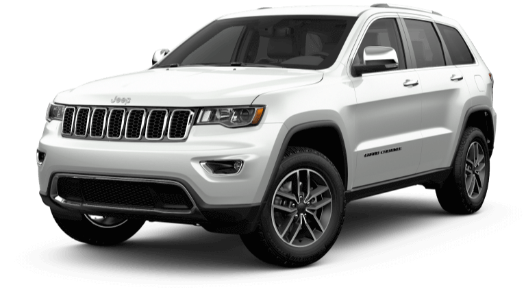 2017 Jeep Grand Cherokee in white