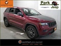 2018 Jeep Grand Cherokee Trailhawk 4x4 Luxury Group Chrysler Certified SUV For sale near Saint Paul MN