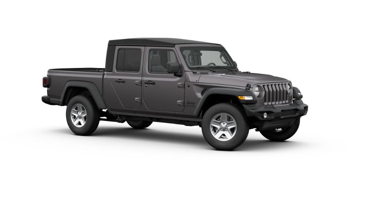 Grey 2020 Jeep Gladiator Sport S