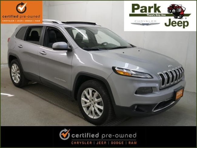 2016 Jeep Cherokee Limited 4x4 Chrysler Certified SUV