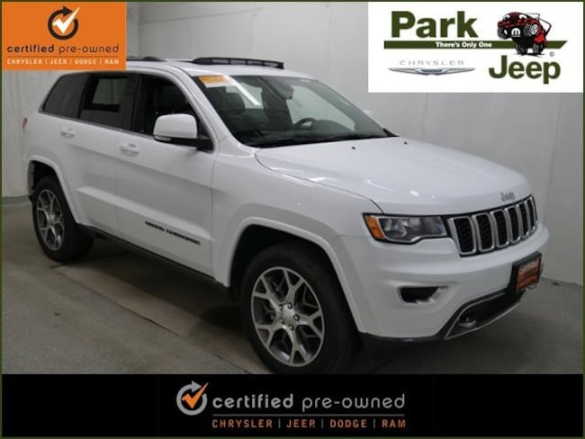 2018 Jeep Grand Cherokee Limited 4x4 Sterling Edition Chrysler Certified SUV