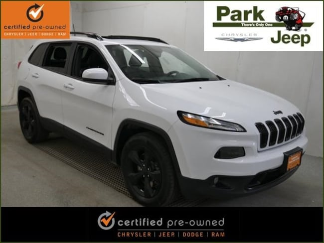 2016 Jeep Cherokee Limited High Altitude 4x4 Chrysler Certified SUV