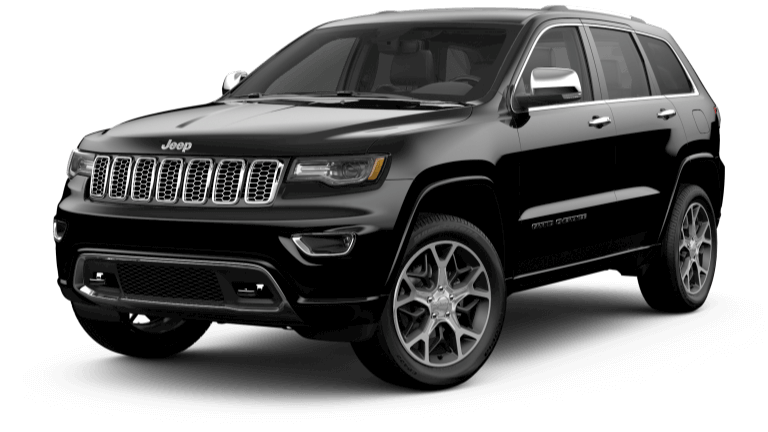 2019 Jeep Grand Cherokee Overland in Black