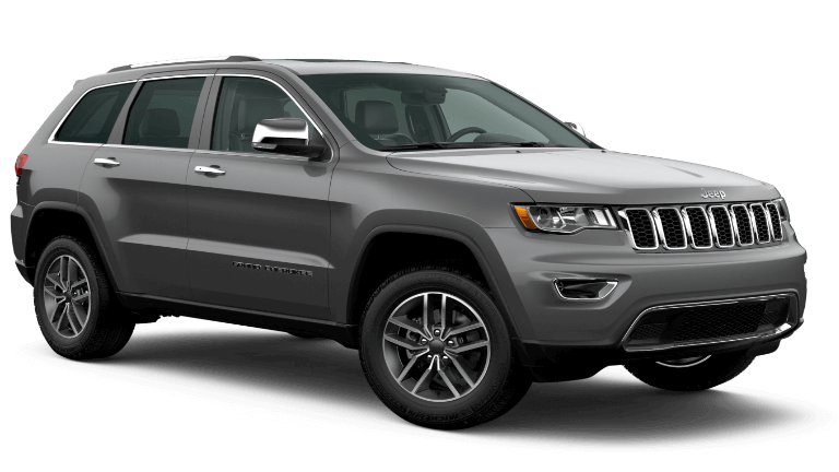 2020 Jeep Grand Cherokee Limited in gray