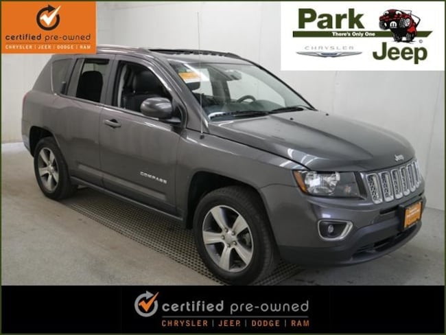 2016 Jeep Compass High Altitude 4x4 Chrysler Certified SUV