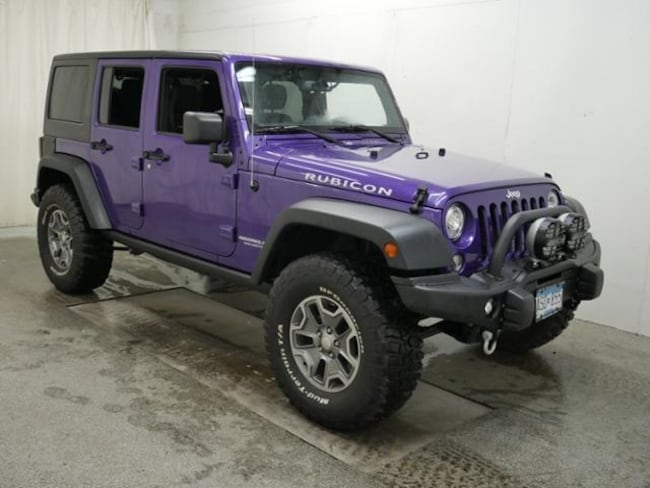DYNAMIC_PREF_LABEL_AUTO_USED_DETAILS_INVENTORY_DETAIL1_ALTATTRIBUTEBEFORE 2017 Jeep Wrangler JK Unlimited Unlimited Rubicon 4x4 AEV Lift SUV For sale near Saint Paul MN