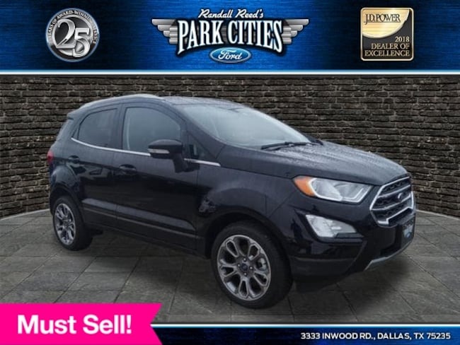 New 2018 Ford EcoSport Titanium Crossover Dallas