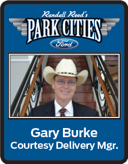 Gary Burke - Courtesy Delivery Manager at Park Cities Ford of Dallas - Dallas TX Ford Dealer.png