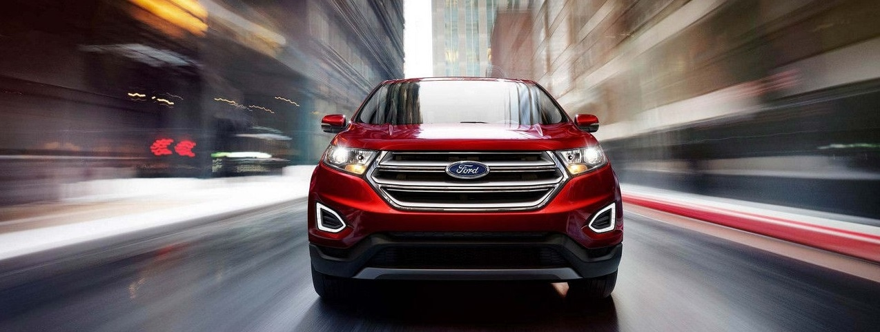 2019 Red Ford Edge