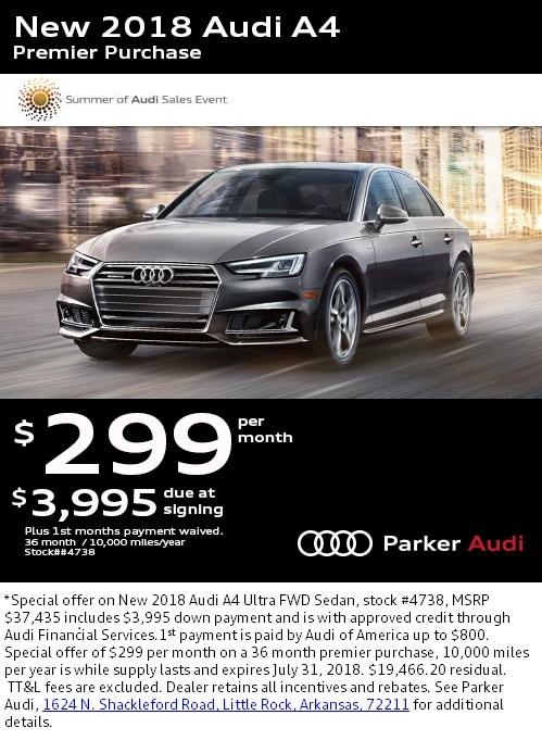 Parker Audi New Audi Dealership In Little Rock AR - Parker audi